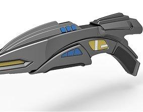 Romulan Disruptor Rifle from Star Trek Deep Space Nine 3D