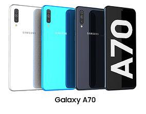 3D Samsung Galaxy A70 Collection