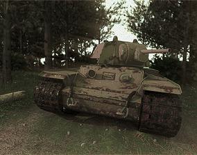 3D model KV-1 Soviet Tank