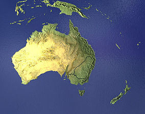 Australia and New Zealand 3D