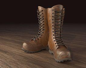 3D model Realistic Boot