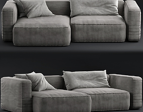 3D model Living divani Neo Wall Sofa B