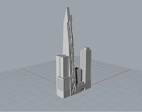 3D printable model 53w53 MoMA Expansion Tower