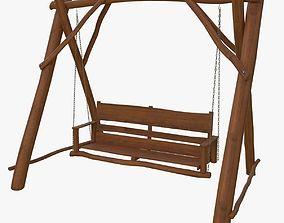 3D house Garden swing