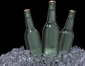 Cold beer 3D model