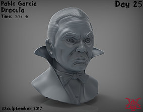 3D printable model Dracula Bust