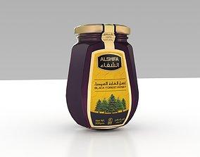 AlShifa Honey Bottle 3D