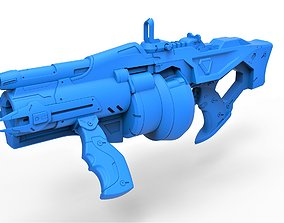 Gun of Baptiste Talon from the game 3D printable model