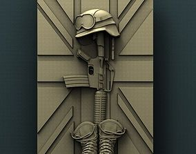 3d STL Model for CNC Router Fallen Hero