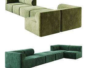 3D Eave Modular Sofa option 03