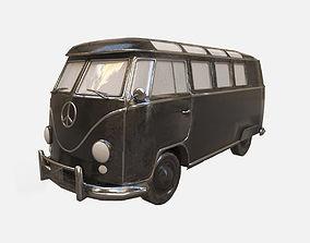 3D model Old Bus