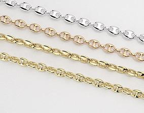 jewellery chain link 3D print model