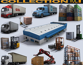 3D model Logistics Collection