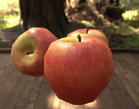 3D model Delicious Red Apple