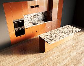 3D model 116-Kitchen8 glossy 10