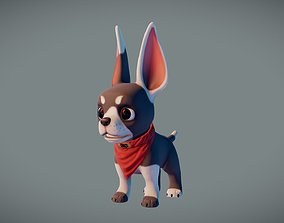 Mr Dog 3D asset