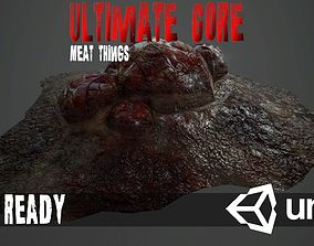 3D asset low-poly Ultimate Gore - PBR MeatThings