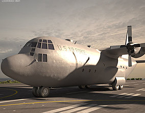3D model Lockheed C-130 Hercules