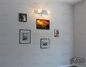 3D model lamp Wall Lamp