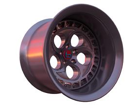 3D model Car Wheel - Brada Forged TF-0