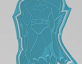 Batman cookie cutter 3D print model