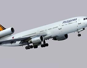 3D McDonnell Douglas DC-10 Philippine Airlines
