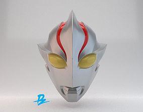 Mask Ultraman Mebius 3D print model