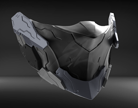 3D print model Cyborg Mask V2 STL for