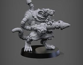 3D print model Zokuk Skydigger