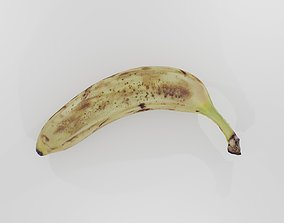 Banana photoscan 3D asset