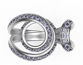 Ring Plexus jewelry 3D print model