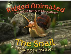 The Snail 3D asset