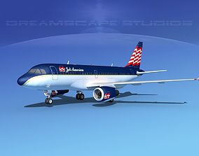 Airbus A319 Jet America Charter 3D model