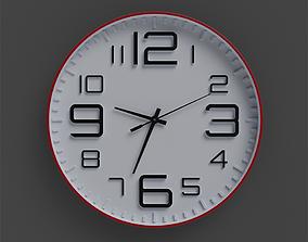 Wall Clock 3D model realtime interior