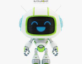 3D model Lovely robot - companion V