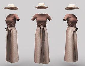 3D model Female Clothing 11