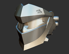 3D print model Blackwatch Genji helmet