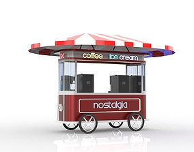 mobile car trolley 3D model