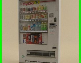vend 3D model Vending Machine