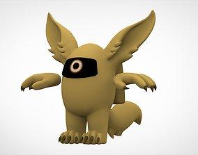 3D model Among Us Gold Werewolf