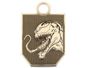 pendant Venom keychain 1 3D print model