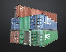 Shipping Container 3D model VR / AR ready