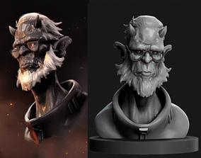 3D print model Dr demon