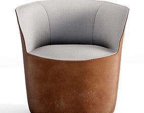 3D Jardan Pearl armchair