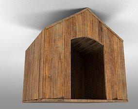 3D model VR / AR ready dog house