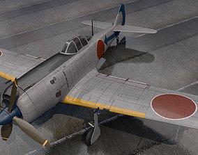 aircraft 3D Nakajima Ki-84 Hayate - aka Frank