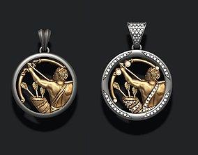 Horoscope Sagittarius pendants pack 3D printable model