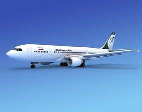 3D Airbus A-300 Mahan Air