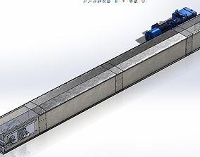 Chain Conveyor 150t 3D