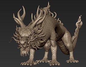 Asian Dragon 3D